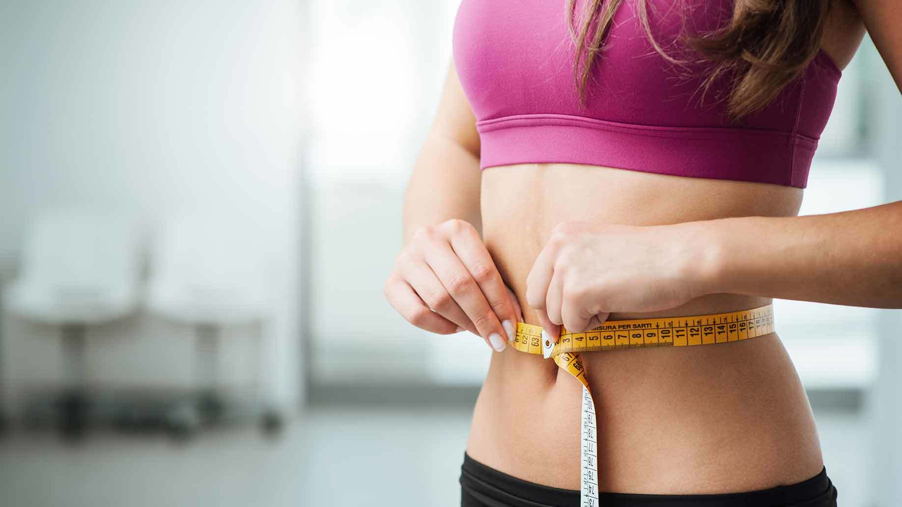 woman waistline
